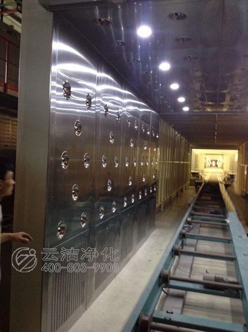 感应移门式货淋室